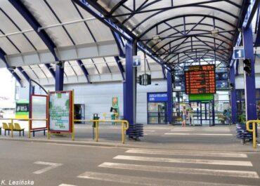 Zmiany dla pasażerów na dworcu Rataje