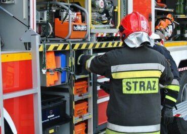 Tragiczny pożar budynku wielorodzinnego na Starołęce