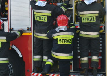 Pożar przy ul. Głównej