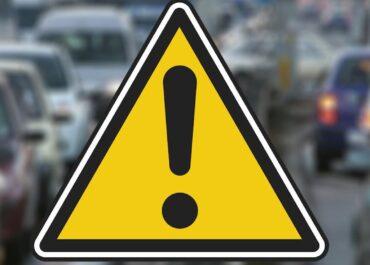 Wypadek na skrzyżowaniu ul. Bułgarskiej i Marcelińskiej