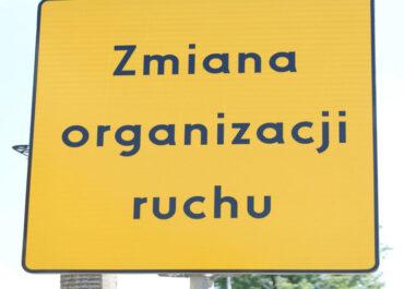 Budowa ul. Lotniczej oznacza zmiany w organizacji ruchu na ul. Dąbrowskiego