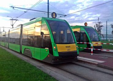 Poznań z najszybciej jadącymi tramwajami w Polsce