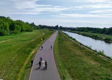Poznaniacy ruszyli na rowery. Ponad 17 tysięcy przejazdów w weekend przy licznikach rowerowych