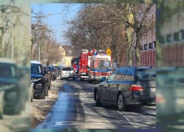 Wybuch gazu na ul. Szamotulskiej, ulica zablokowana