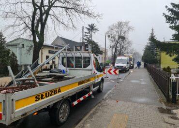 Awarie wodociągowe i utrudnienia w ruchu na ul. Opolskiej i Darłowskiej