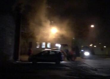 Na ul. Północnej znów palą śmieci