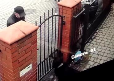 Spryskał psa na prywatnej posesji gazem. Atak zarejestrowała kamera
