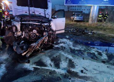 Wypadek w Koninku, duże utrudnienia w ruchu