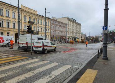 Zdemontowano stację PRM przy Al. Marcinkowskiego