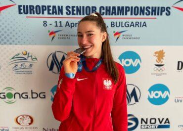 Aleksandra Kowalczuk ze srebrnym medalem na Mistrzostwach Europy po wycofaniu się z rozgrywki finałowej