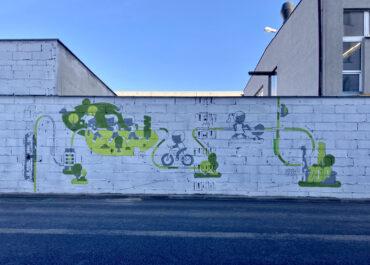 Mural, który ma pomóc oczyszczać powietrze ze smogu