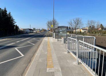 Wygodniej i bezpieczniej na przystankach autobusowych