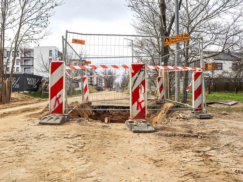 Ulica Mateckiego zostanie zamknięta dla ruchu