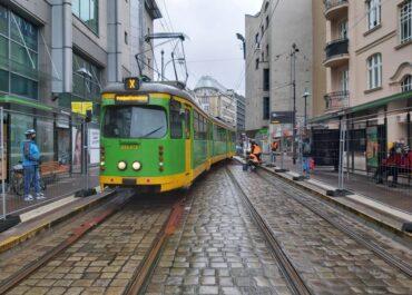 Kolejny etap Programu Centrum – od jutra duże zmiany w ruchu tramwajowym w centrum miasta
