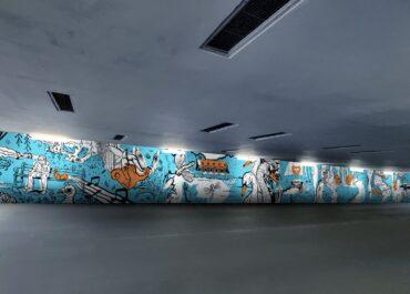 Przejście podziemne na Golęcinie nabierze koloru. Studenci wykonają tam murale