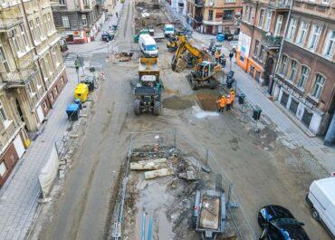 Awaryjne prace na Wildzie, od piątku nie będzie przejazdu przez skrzyżowanie ul. Spychalskiego i Wierzbięcice