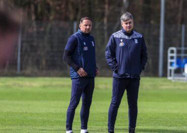 Maciej Skorża poprowadził pierwszy trening jako nowy szkoleniowiec Lecha Poznań