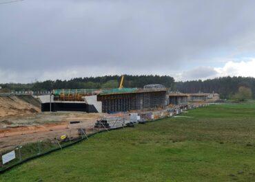 Na jakim etapie jest budowa mostu w Rogalinku ?
