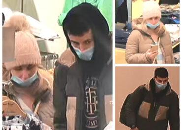 Kradzież markowej odzieży o wartości kilku tysięcy złotych. Policja szuka dwóch osób
