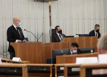 Senat odrzucił kandydaturę Bartłomieja Wróblewskiego na Rzecznika Praw Obywatelskich