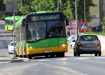 Zmiana tras ośmiu linii autobusowych na Naramowicach