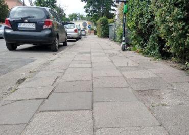 Chodniki na ul. Chlebowej i Tomickiego będą równiejsze