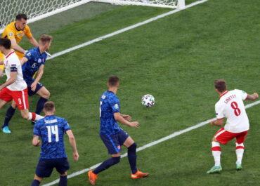 Były Lechita zdobył jedyną bramkę w pierwszym meczu Polski na EURO 2020