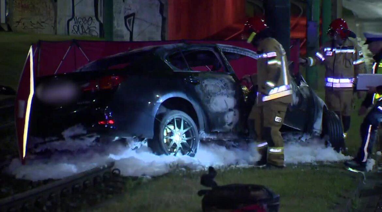 Policja ustala czy ofiary wypadku na ul. Hetmańskiej zginęły w wyniku zderzenia czy pożaru