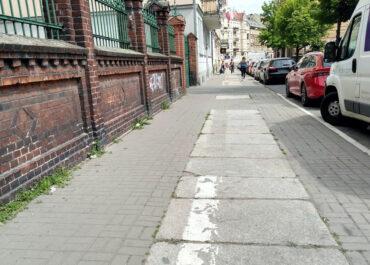 Chodnik na ul. Łąkowej będzie wyremontowany za pieniądze ze Strefy Płatnego Parkowania
