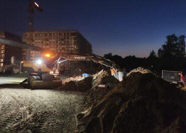 Hałas, bałagan, brak ciepłej wody – mieszkańcy Jeżyc skarżą się na budowę nowego osiedla