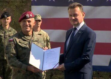 Polski generał obejmuje obowiązki zastępcy dowódcy V Korpusu Sił Lądowych USA