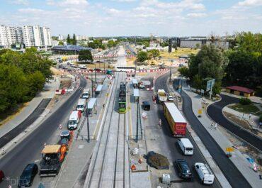 W piątek kolejne prace na ul. Zamenhofa – zmiany w ruchu kołowym i komunikacji miejskiej