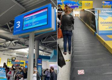 """""""Tragedia"""" – kumulacja lotów i długi czas oczekiwania na bagaż? Poznańskie lotnisko wyjaśnia"""