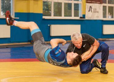 Jacek Jaśkowiak zmierzył się na macie z medalistą olimpijskim. Jak sobie poradził?