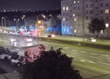 Samochód uderzył w bariery na ul. Hetmańskiej