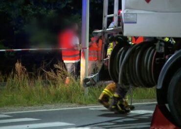 Policja wyjaśnia okoliczności wczorajszego wypadku cysterny na ul. Lutyckiej