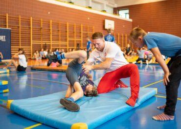 Poznańscy uczniowie mogą trenować z medalistami olimpijskimi