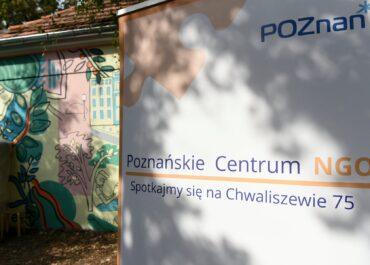 Poznańskie Centrum Wspierania Organizacji Pozarządowych i Wolontariatu już działa