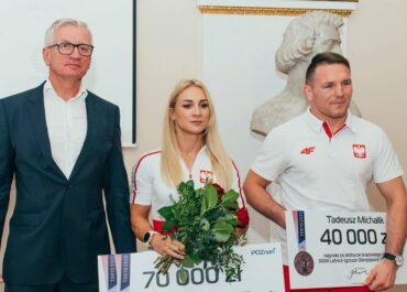 Poznańscy olimpijczycy nagrodzeni