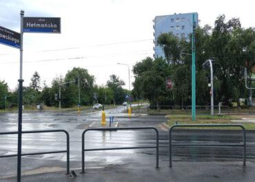 Kolejne zmiany na skrzyżowaniu ul. Dmowskiego i Hetmańskiej
