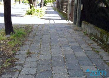 Będzie wygodniej dla pieszych na kolejnym odcinku ul. Wołyńskiej