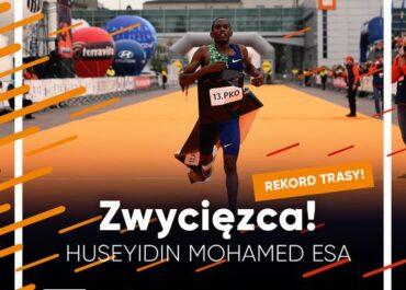 Zwycięzca 13. PKO Poznań półmaratonu z rekordem trasy !