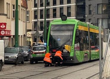 Awaria tramwaju na Wildzie