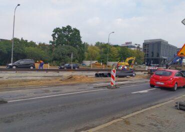 Zmiany na skrzyżowaniu ul. Krzywoustego i Serafitek