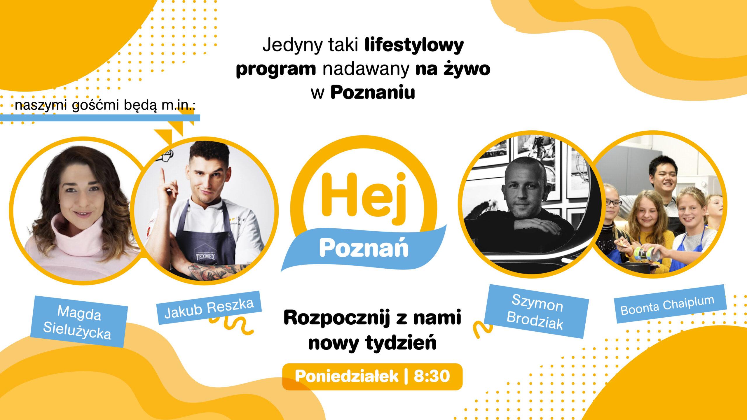 Hej Poznań na żywo od 8:30