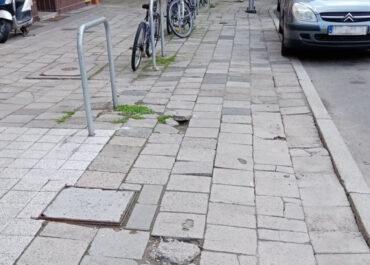 Z myślą o pieszych – prace wokół pl. Asnyka