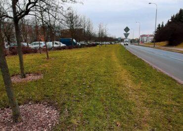 Budowa drogi rowerowej i chodnika wzdłuż ul. Szymanowskiego – zmiany dla kierowców i pieszych
