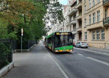 Zmiana tras autobusów linii numer 164, 216 i 226